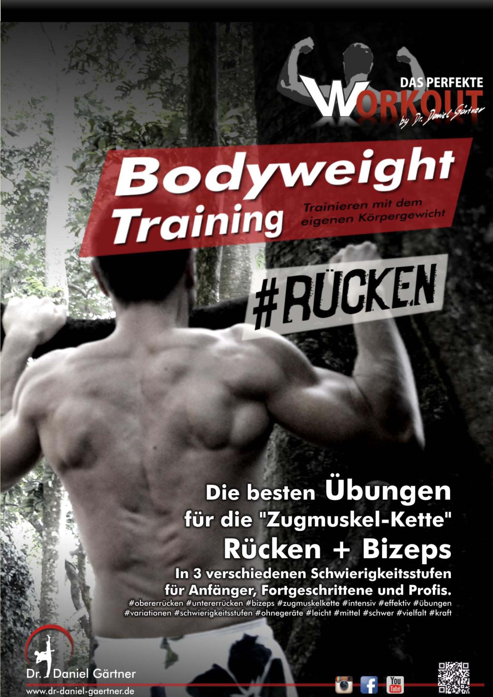 Bodyweight Training - Rücken