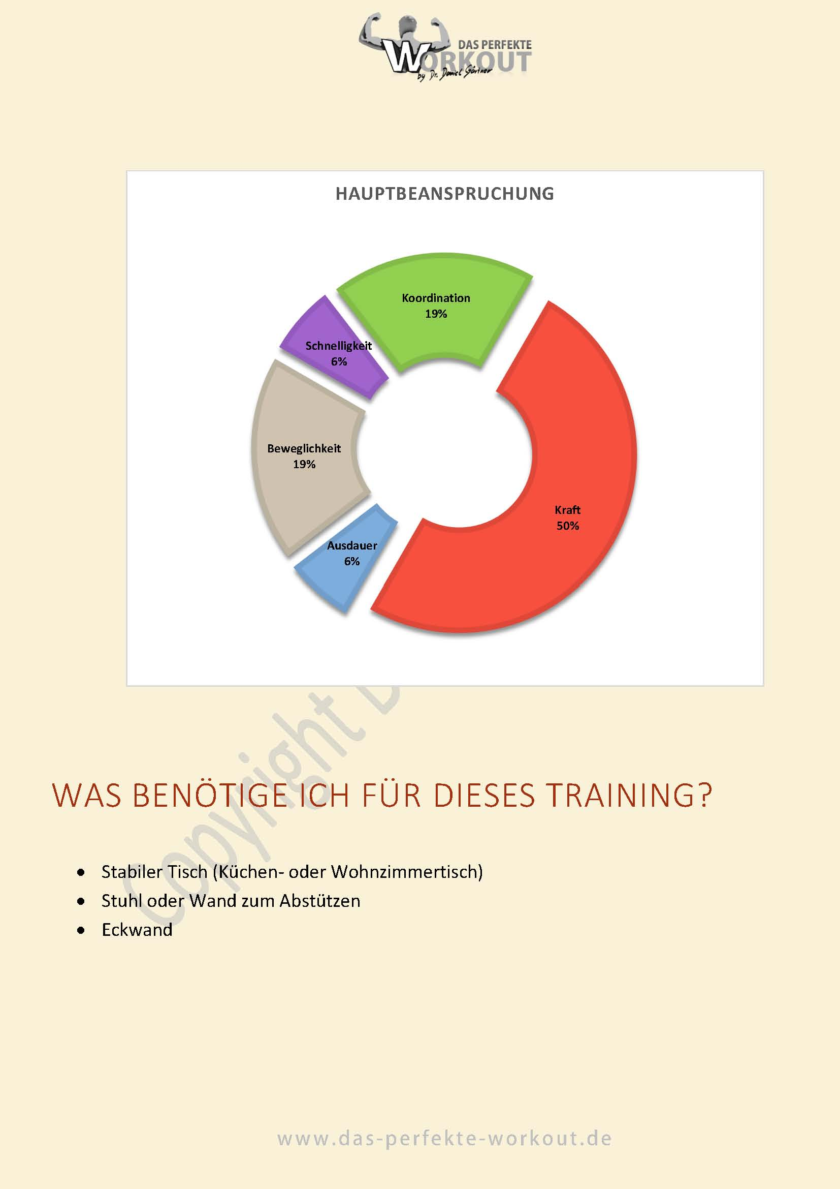 Bodyweight Training - Rücken